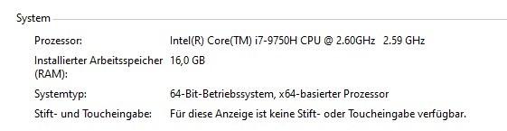 Windows RAM nach Wechsel